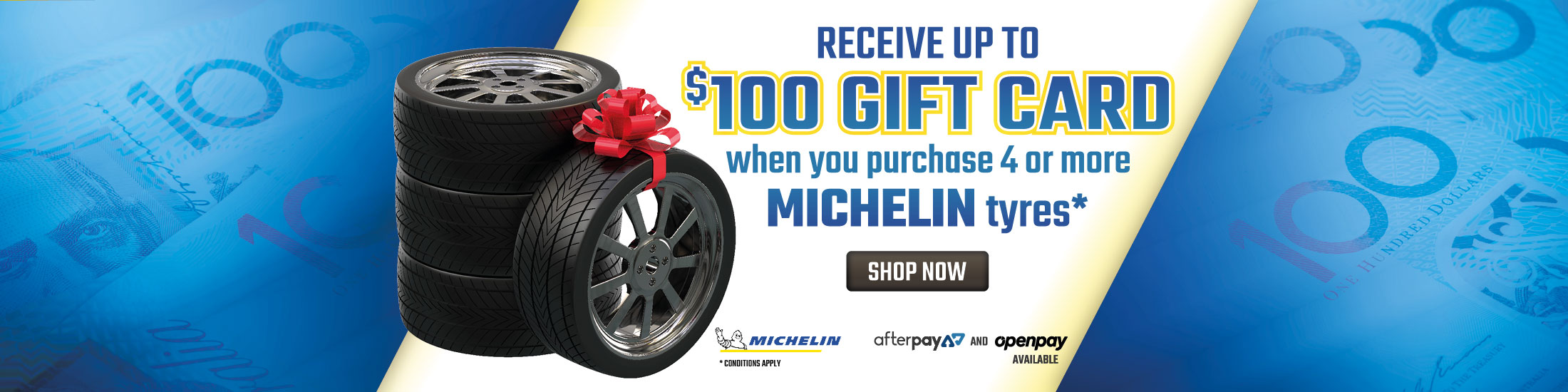 Michelin Gift Card Promo