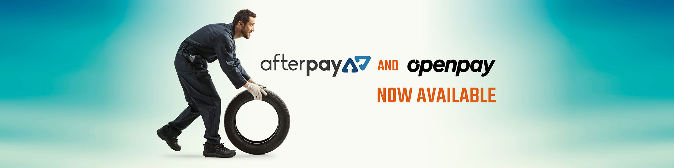 Open Pay And After Pay Available Banner